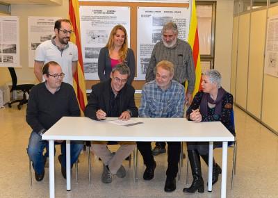 Signatura Compromis Independència Mataró ERC