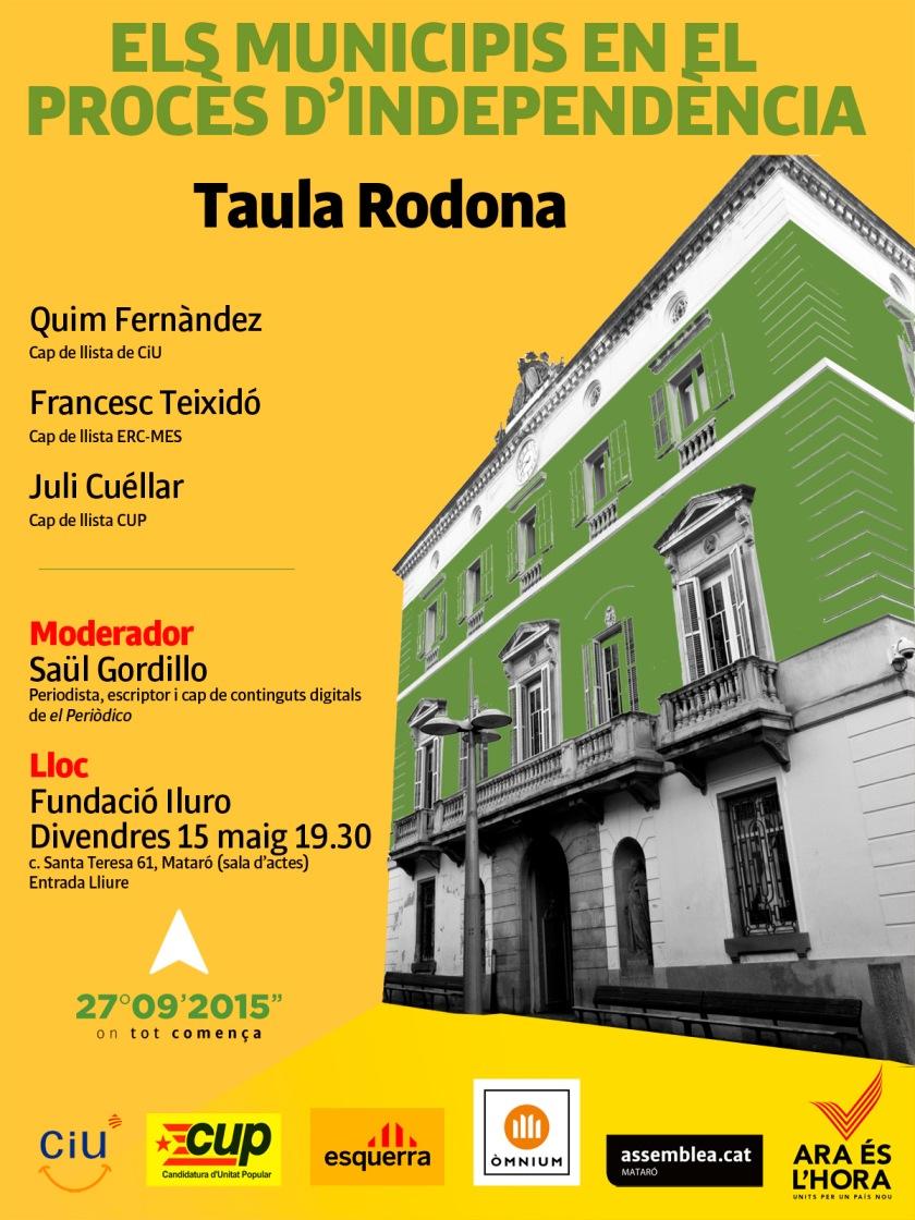 TaulaRodona Independencia Mataró
