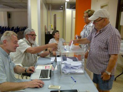 Votacions pregunta sobiranista ANC Mataro